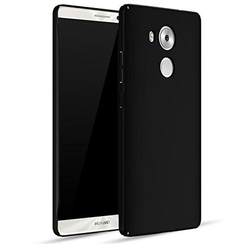 Bllosem Huawei Mate 8 Hülle High Quality Ultra Slim Exquisite Reale Haut Gefühl Ganzkörper Schutzhülle für Huawei Mate 8 Schwarz