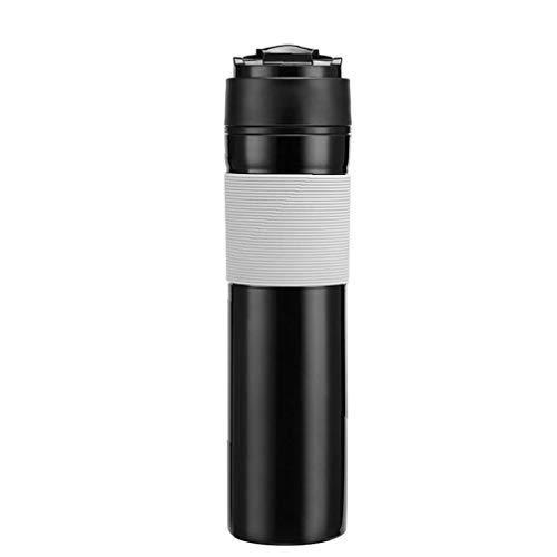 Kaffee-Reise-Press Tragbarer Französisch Presse Utensilien Kaffeemaschine Filter-Kaffeetasse Mini Compact Tragbare Reise-Kaffee-Maschine Kaffee-Energie-Kapsel-Kaffee-Liebhaber-Geschenk Für Pendler -