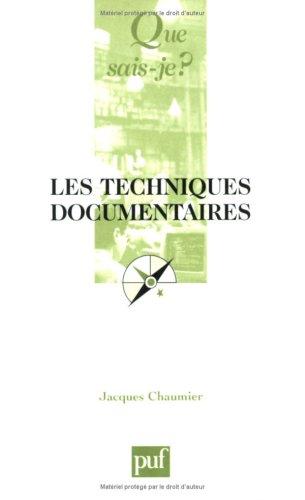 Les Techniques documentaires