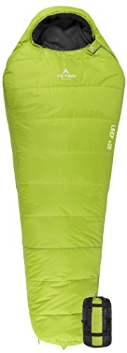 TETON Sports LEEF Ultralight Mummy Sleeping Bag;...