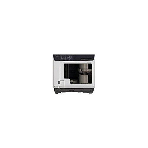 Epson Discproducer PP-100AP, Drucker für CD/DVD, Farbe, Tintenstrahldrucker, CD (120mm) 1440dpi x 1440dpi bis zu 1,58Discs/min (Mono)/bis zu 1,58Discs/min (Farbe), Kapazität: 100USB-Discs (Epson Discproducer)