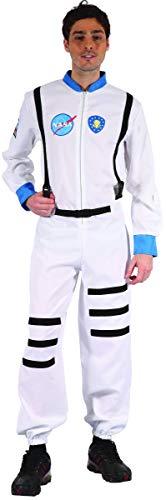 Schwarze Astronaut Kostüm - KULTFAKTOR GmbH Raumfahrer Kostüm Astronaut Weiss-schwarz-blau