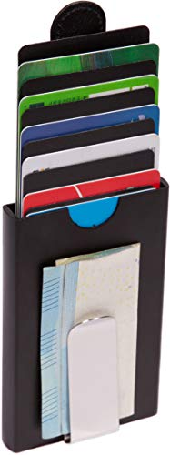 Hochwertiges Kartenetui mit RFID Schutz und Geldklammer von Malletino, Kreditkartenetui aus Aluminium, Kredit-Karten-Etui mit Geldscheinklammer, Smart Wallet, Portemonnaie mit Geldclip - Chef-video
