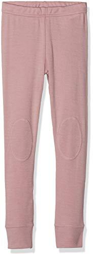 NAME IT Mädchen NMFWILLIT Wool NOOS Leggings, Mehrfarbig (Woodrose), 104 - Kinder-ripp-strumpfhosen