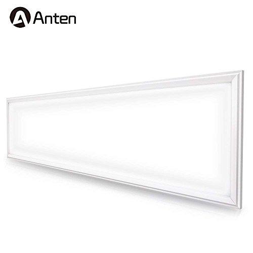 Anten LED Panel Deckenleuchte Hängeleuchte inkl. Trafo und Befestigungsmaterial für Büroräume, Flure, Küche, Schlafzimmer