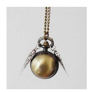 Legendäre Uhr Flying goldener Schnatz (Snitch Kostüm)