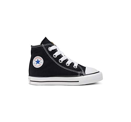 Converse  Chuck Taylor All Star Core Hi,  Unisex Kinder Kurzschaft Stiefel, Schwarz (Black), 19 EU Kinder