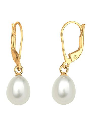 perlu-women-925-sterling-silver-gold-plated-freshwater-pearls-earrings-0311780414