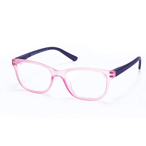 ZENOTTIC Kinder Computer Blaue Li cht Blockieren Brille Anti Schwindlig Linse Leicht Schützen Augen Spiel Brille Junge Mädchen (ROSA)
