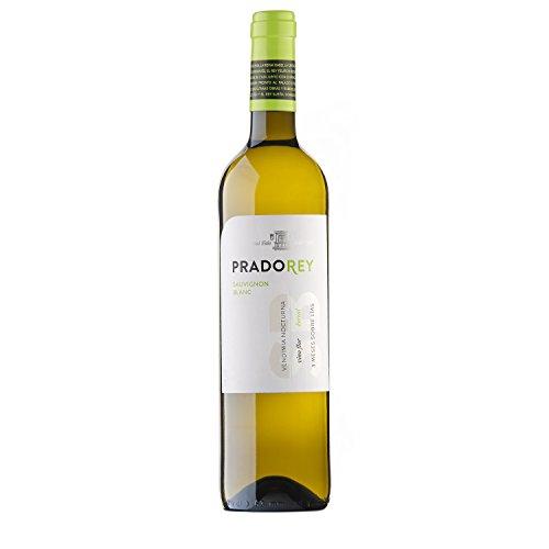 PRADOREY Sauvignong Blanc - Vino bianco - Vino spagnolo - Sauvignon Blanc - Vino della terra di Castiglia e León - Vendemmia notturna - Vinificazione con sistema Boreal - 1 bottiglia - 0,75 l
