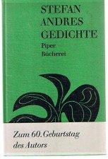 Gedichte - Zum 60. Geburtstag des Autors -