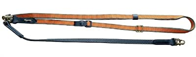 Niggeloh Hundeleine Grip, orange-olive, 081100001