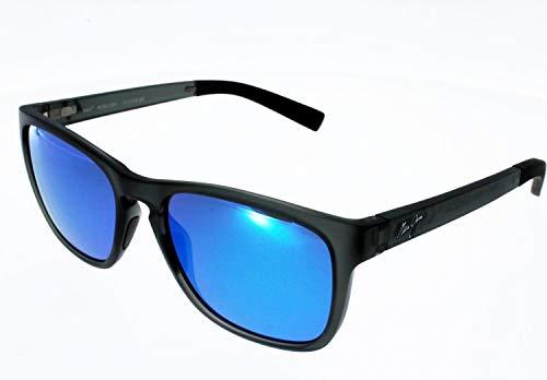 Maui Jim Sonnenbrille, polarisiert, LONGITUDE BLUE HAWAI Unisex Index 3 Polarizedplus 2 verstellbare Flexbügel, kleines Gesicht