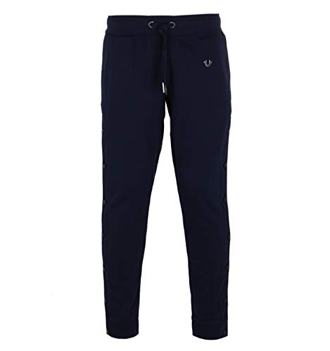 True Religion Navy Doubleface Relax Pant-MEDIUM