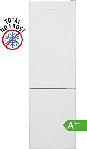 Bomann KG 7304 Kühl-Gefrierkombination/ EEK A++/ Kühlen 180 L/Gefrieren 70 L/Höhe 180 cm/Breite 54 cm/ 202 kWh/Jahr/ Total No Frost/ multiAirflow-System/ Weiß