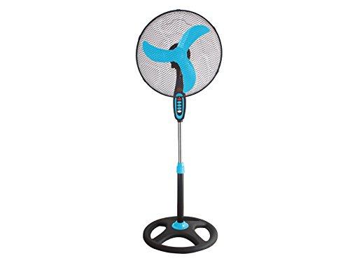 Beper VE.100BL - Ventilatore A Piantana, 45 W, Colore Blu