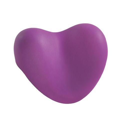 WENKO 18942100 Kopf- und Nackenkissen Tropic Purple, Kunststoff - Polyurethan, 25 x 11 x 20.5 cm, Lila
