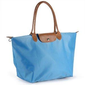 Strong super spessa impermeabile borsa da spiaggia pieghevole borsetta borsa shopper da donna in pelle (Flap Satchel Handbag)