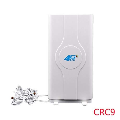 Providethebest TS9 / SMA / CRC9 Steckverbinder Indoor extrem schnelle 3G 4G 88dBi LTE MIMO-Antenne 700MHz-2600MHz und 2M Kabel