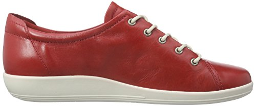 Ecco Damen Soft 2.0 Derby Rot (CHILIRED 1466)