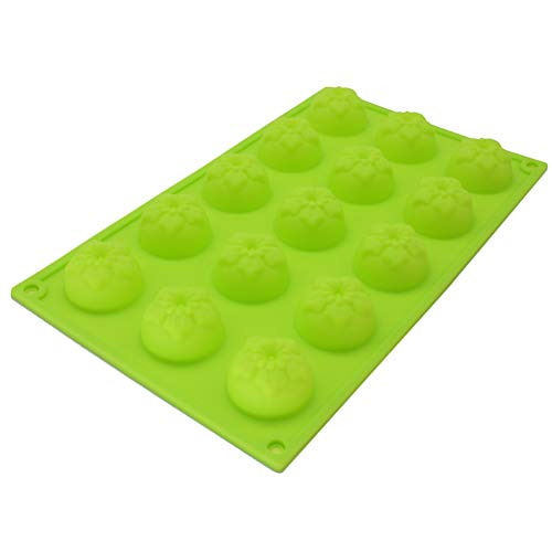 X-Haibei Narcissus Flower Chocolate Jello Silicone Mold Baby Guest Soap Lotion Bar Making by X-Haibei - Flower Soap Bar Seife