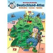 Karlchen Krabbelfix / Deutschland-Atlas: Entdecken, Lernen, Spielen