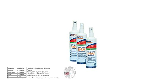 VibaSept Hygiene Spray - 3 x 250 ml