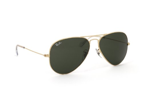 ray-ban-classic-aviator-sunglasses-arista-gold-crystal-green-58-crystal-green