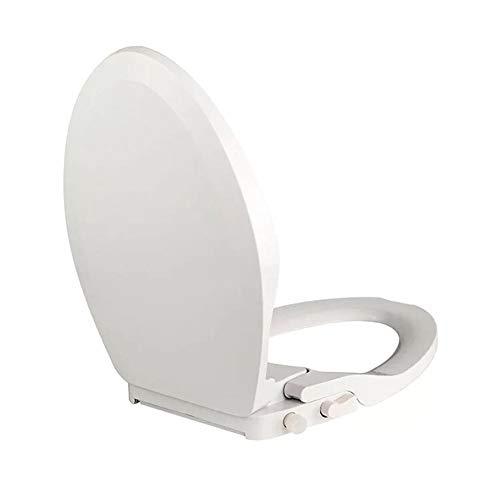 RIRUI Smart WC-Sitz,DoppeldüSe, Damenreinigungs- Und Umweltschutztoilette, Kein Stromverbrauch,White,47 * 35.8cm