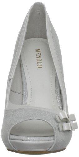 MENBUR - Filifera, Scarpe da sposa Donna Bianco (Ivory)