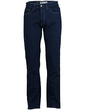 Jeans elasticizzati foderati in pile middle blue