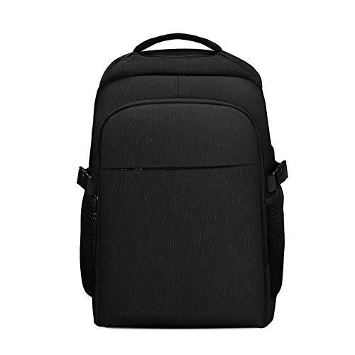 ZNMY Student Doppel Umhängetasche Große Kapazität Outdoor Rucksack Bookbag Erholung Schulbuch Packtaschen Schultaschen-black (Schulbuch Zurück)