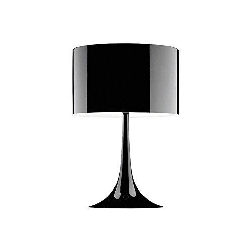Flos Spun Light T2 Lampe de table noire brillante 220 Volt