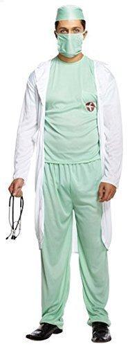 5 Stück Herren Arzt Rettungsdienste ARTZT Scrubs Chirurg Krankenschwester Kostüm Kleid Outfit