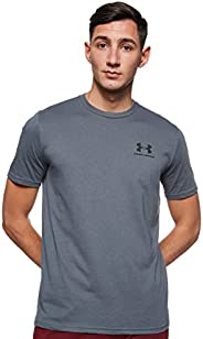 Under Armour Men's Sportstyle Left Chest Short Sleeve T-s