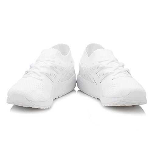 Asics Gel-Kayano Trainer Knit, Scarpe da Corsa Uomo Bianco