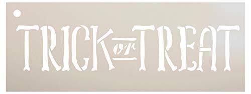 lone von StudioR12, wiederverwendbare Mylar-Schablone, zum Bemalen von Holzschildern - Paletten - DIY Herbst & Halloween-Dekoration - Größe wählbar 8