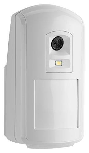 Honeywell Camir-8Ezs Evohome Security Rilevatore di Movimento senza Fili con Fotocamera a Colori e Sensore Calore, Bianco