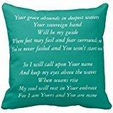 Ocean Hillsong United Lyrics R4d8fa71856694f0e8429d6b358b1e243 I52ni 8byvr Pillow Case 18\
