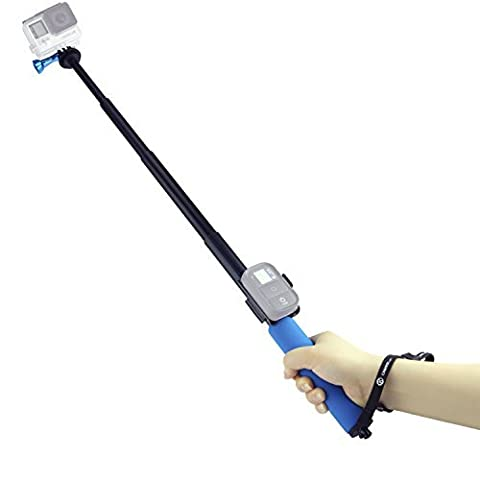 Perche pour GoPro par CamKix - Perche Télescopique Réglable avec