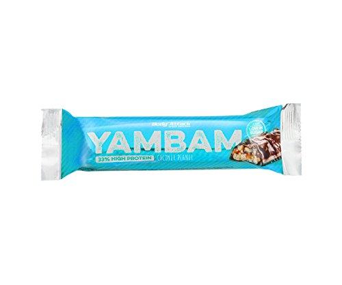 Body Attack YAMBAM Protein Bar 10 x 80g Coconut Peanut