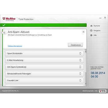 Foto Screenshot McAfee Total Protection
