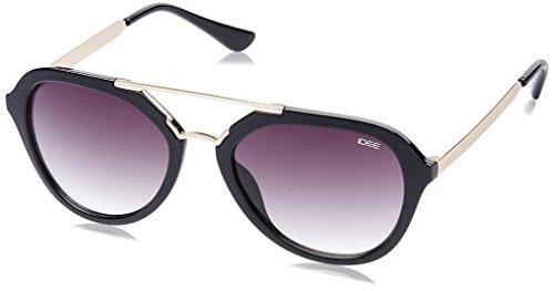 IDEE Gradient Square Unisex Sunglasses - (IDS2108C2SG|53|Smoke Gradient lens) image