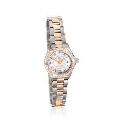 Tag Heuer Damen-Armbanduhr Aquaracer Diamant Quarz
