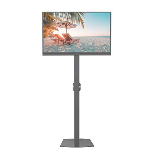 Eono by amazon - base con piedistallo e supporto per schermi tv da 32'' - 70'' con braccio regolabile