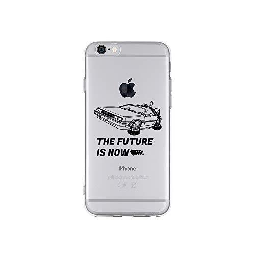 Zukunft Von Design (licaso Apple iPhone 6 Handyhülle Smartphone Apple Case aus TPU mit The Future is Now Sportwagen Print Motiv Slim Design Transparent Cover Schutz Hülle Protector Soft Aufdruck Lustig Funny Druck)