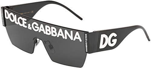 Dolce & gabbana 0dg2233 occhiali da sole, multicolore (black), 40.0 uomo