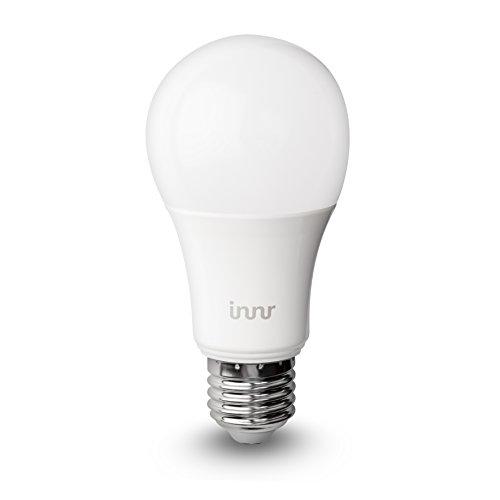 innr e27 smart led lampe abstimmbares wei es licht 2200k 5000k kompatibel mit alexa. Black Bedroom Furniture Sets. Home Design Ideas