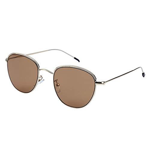 Yehwang® EST. 2008 Schmuck Großhandel Frauen Damen Modeschmuck Premium-Design Sonnenbrillen für Damen (Braun)