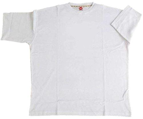 Übergrößen !!! Basic Longsleeve T-Shirt HONEYMOON in 3 Farben 3XL bis 15XL Weiß